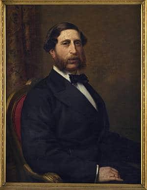 Portrait von Georg Speyer