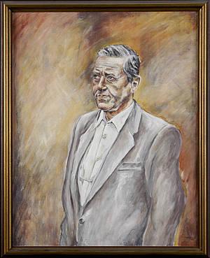 Portrait of Günther Heymann