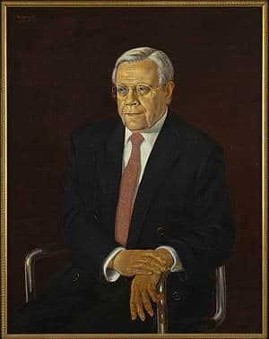 Portrait of Hans Dieter Brede