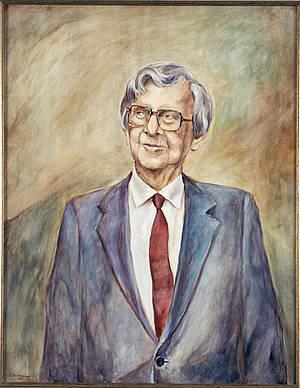 Portrait of Niels Kaj Jerne