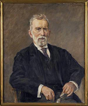 Portrait of Paul Ehrlich
