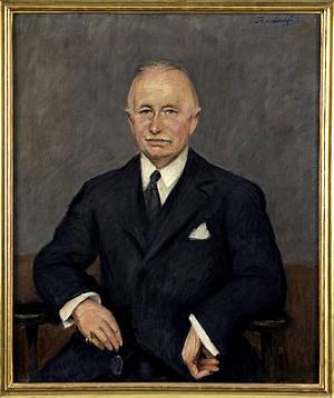 Portrait von Wilhelm Kolle
